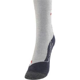 Falke RU3 - Calcetines Running Hombre - gris/negro